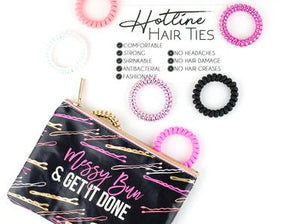 Slumber Party Set - Hotline Hair Tie