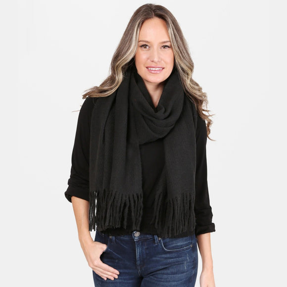 Solid Oblong Scarf