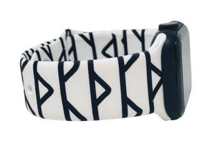 Black and White Geometric Apple Watch Band