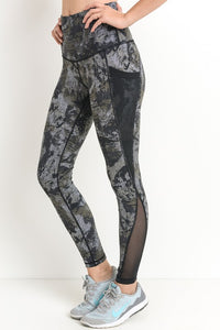 Dark Ocean Splice Leggings