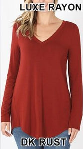 Luxe Long Sleeve Basic
