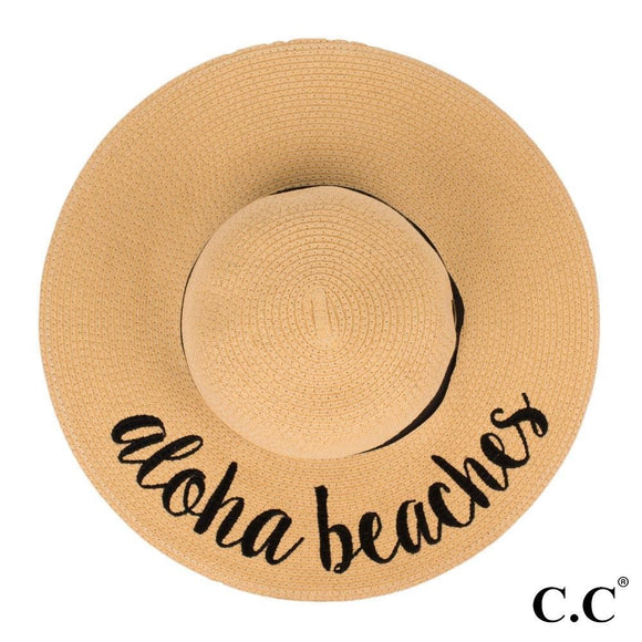 Lettered Floppy Hat