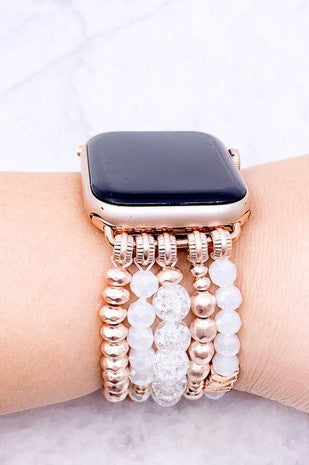 Chevron Pearl Apple Watch Bands