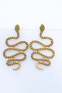 Snake Hanging Earrings