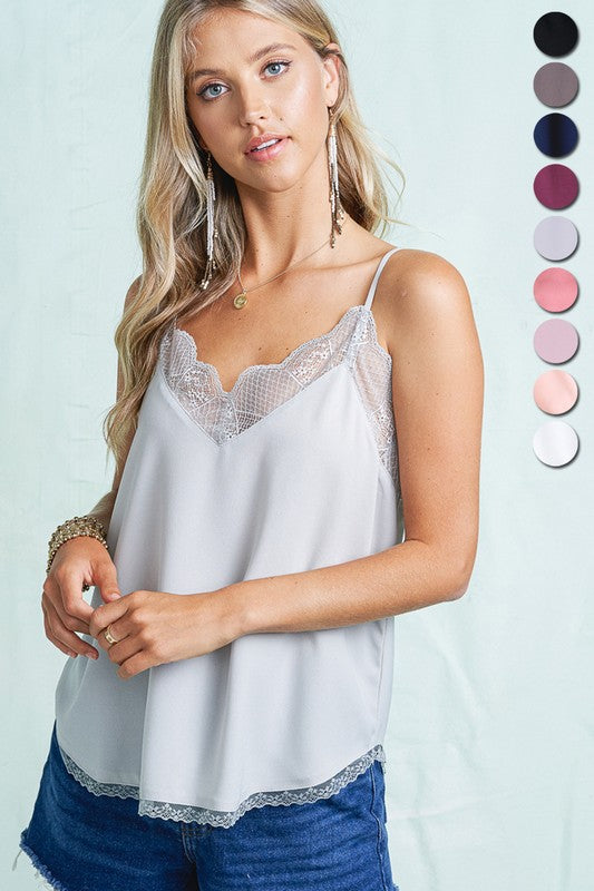 Tory Lace Cami