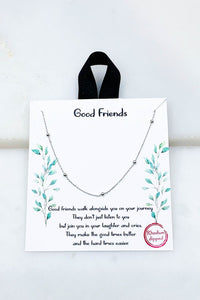 Good Friends Necklace