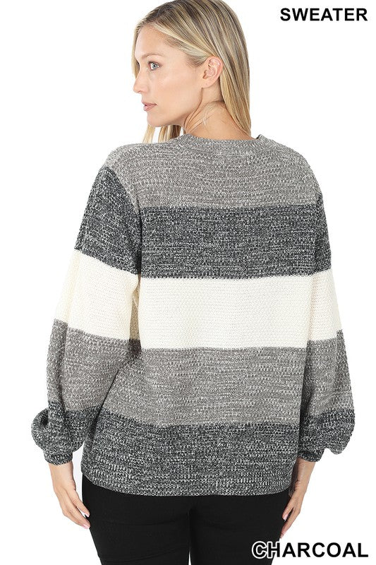 Melanie Colorblock sweater