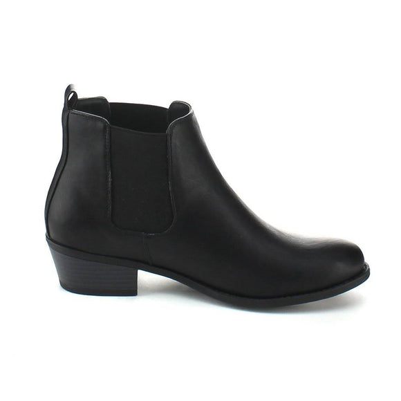 Basic Black Chelsea Booties