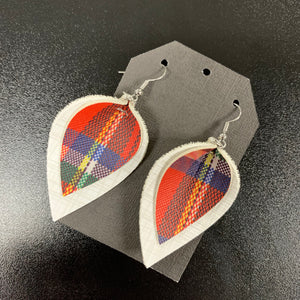 Winter Plaid Earrings
