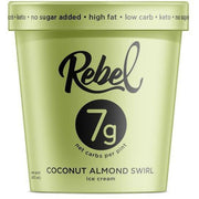 Mantecado Rebel Coconut Almond Swirl