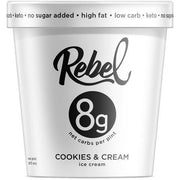Mantecado Rebel Cookies and Cream