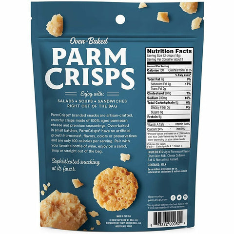 Parm Crisps Sabor Original Family Size 5oz