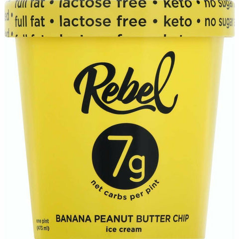 Mantecado Rebel Banana Peanut Butter Chip
