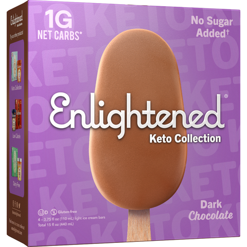Paletas de Mantecado de Dark Chocolate