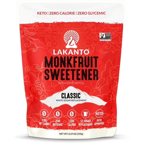 Monkfruit Sweetener Classic de 8.29 oz