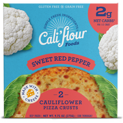 Crust de Coliflor Sweet Red Pepper