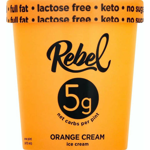 Mantecado Rebel Orange Cream