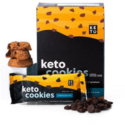 Keto Cookies de Chocolate Chip