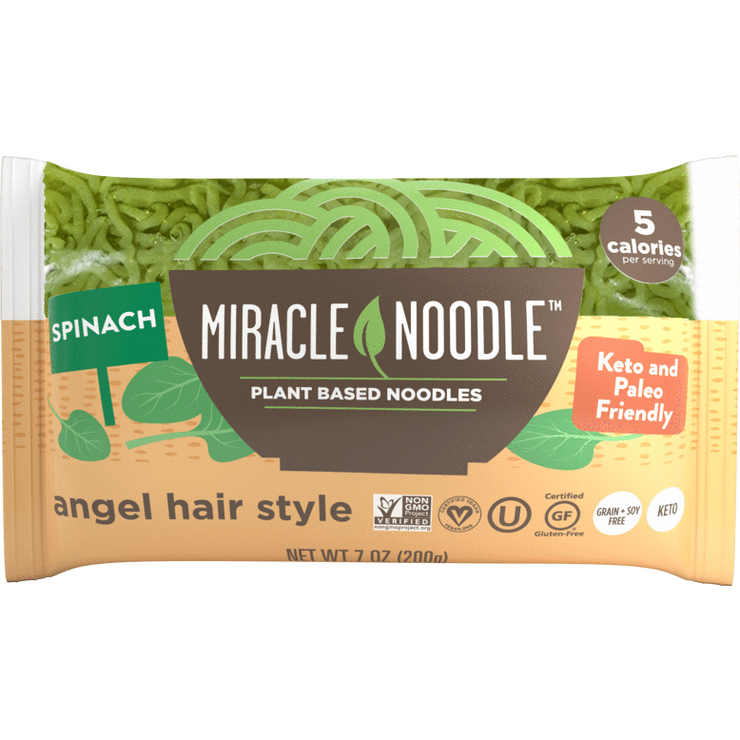 Miracle Noodle--Spinach