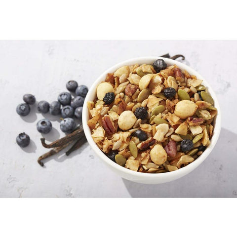 Granola de Vainilla y Blueberries