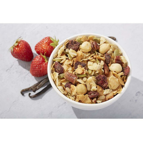 Granola de Vainilla y Strawberries