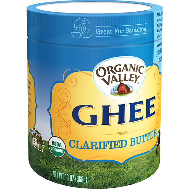 Organic Valley Ghee--Clarified Butter 13 oz