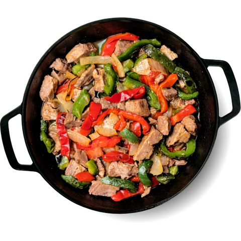 Skillet de Fajitas de Steak