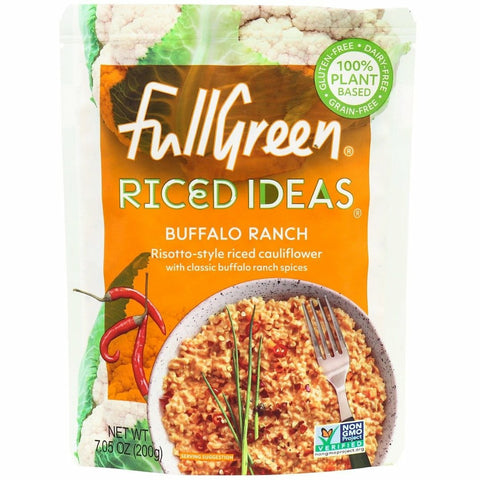 Risotto de Colifor con Especias Buffalo Ranch