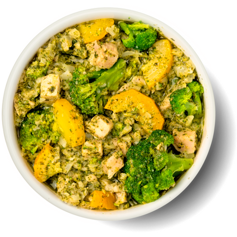 Bowl de Pollo con Pesto