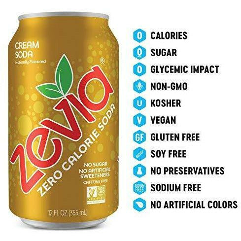 Zevia--Cream Soda