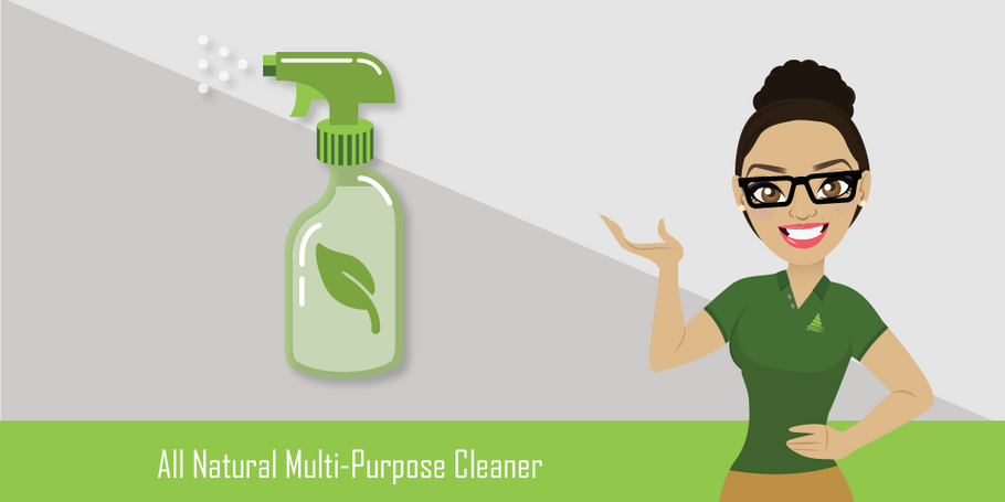 DIY Safe & Natural Multi-Purpose Cleaner With 3 Ingredients!
