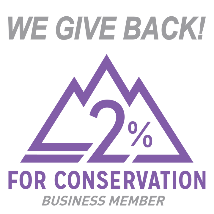 1% TIME + 1% MONEY = 2% FOR CONSERVATION