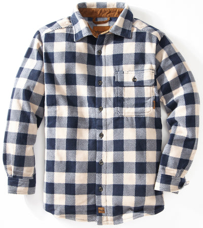 Bonfire Plaid Fleece Shirt Shirts Venado Small Antler