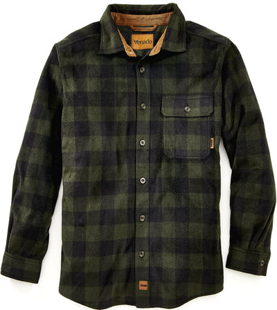Bonfire Plaid Fleece Shirt Shirts VenadoInc Small Woodland