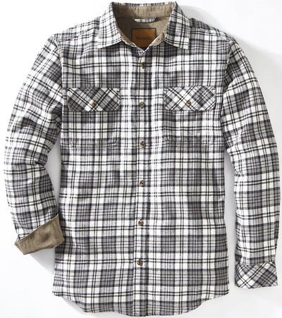 Full Draw Flannel Shirt Shirts Venado Medium Storm