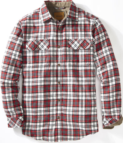 Full Draw Flannel Shirt Shirts Venado Small Red