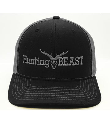 Hunting Beast Black Trucker Cap Accessories The Hunting Beast