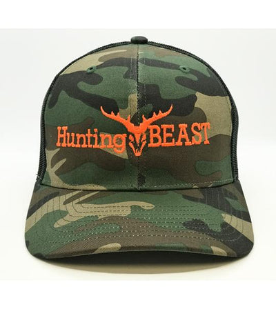 Hunting Beast Camo Trucker Cap Accessories The Hunting Beast