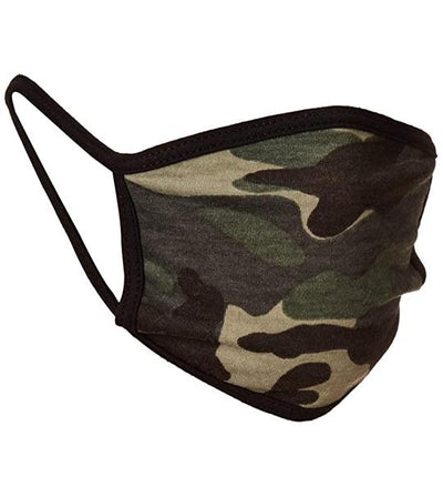 Reusable Camo Face Mask (1-Pack) Accessories Venado Inc