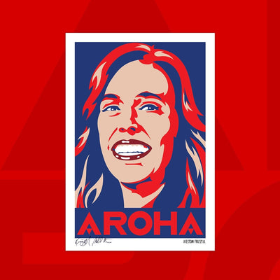 Signed AROHA prints – Weston Frizzell