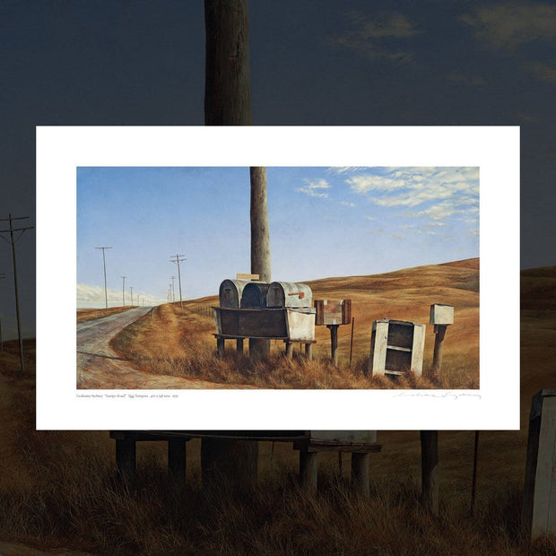 """Auripo Road"" signed print by Grahame Sydney"