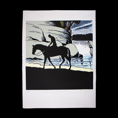 The Long Ride Home – Limited Edition Screenprint by Dick Frizzell