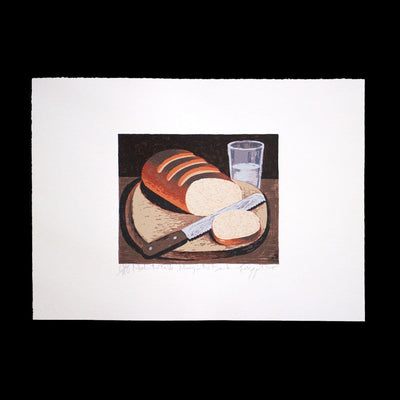 Meat on The Table – Limited Edition Screenprint by Dick Frizzell