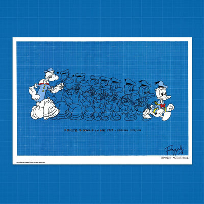 Signed Pop Duck print by Dick Frizzell – Black Friday Deal