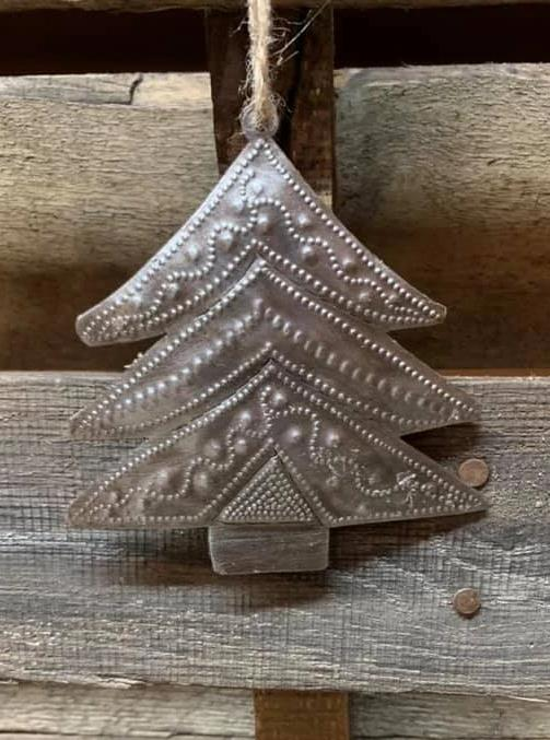 Christmas Tree Ornament Wide