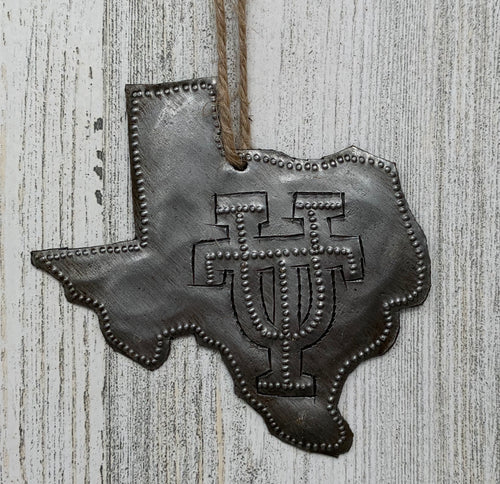 UT In Texas Ornament