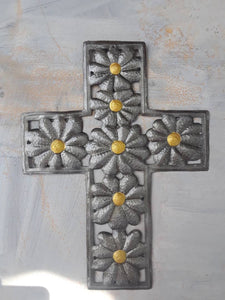 Sunflower Cross