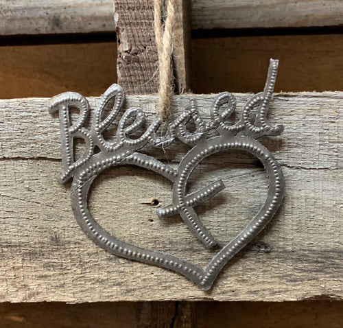 Blessed Ornament - MORE AVAILABLE MID MAY