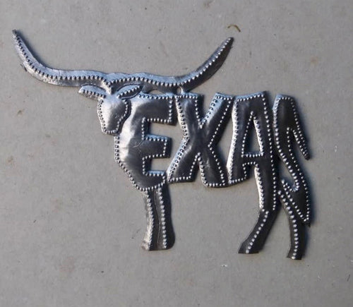 Texas Longhorn Ornament