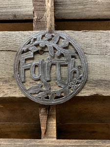 Faith Ornament